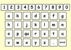 124 best aac words letters based images on pinterest With letter board words