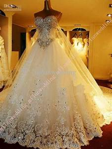 dress bling wedding dresses 2040943 weddbook With blingy wedding dresses