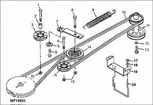 Craftsman 42 Inch Mower Drive Belt Diagram
