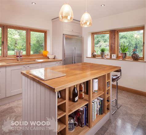 solid wood   open plan kitchen designs solid