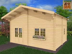 Chalet En Bois Habitable Livré Monté : chalet en bois en kit de 30 m avec mezzanine mod le peuplier ~ Dailycaller-alerts.com Idées de Décoration