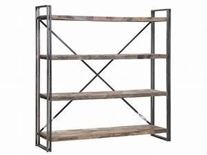Bücherregal Metall Holz : regal im industriedesign b cherregal aus metall und holz h he 164 cm ~ Sanjose-hotels-ca.com Haus und Dekorationen