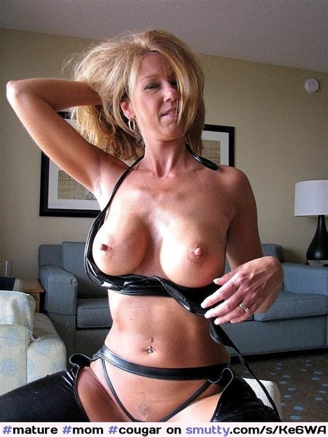 Mature Mom Cougar Omgmom Stripping Undressing Bigtits