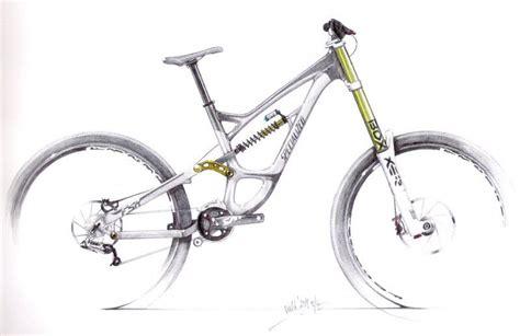 Mountain Bike Sketch Mountain Bike Sketch