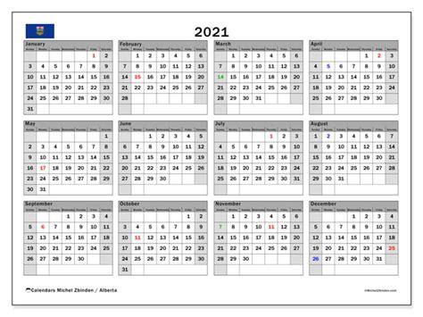 calendar alberta canada michel zbinden en