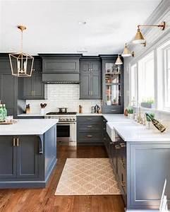Top, 50, Best, Grey, Kitchen, Ideas
