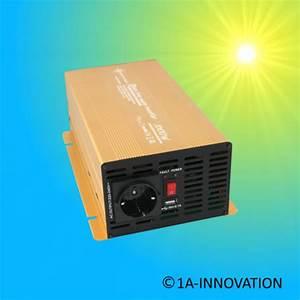 Wechselrichter 1000 Watt : spannungswandler 1a innovation ~ Jslefanu.com Haus und Dekorationen
