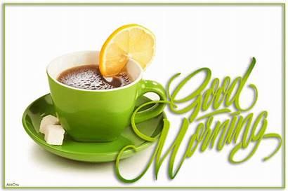Morning Tea Animation Lemon Gifs Cup Animated