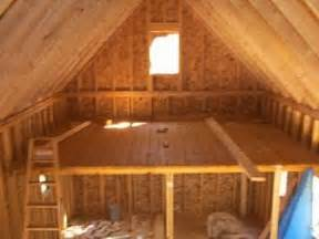 Shed Plans 12x12 With Loft by 14 X 24 Owner Built Cabin W Loft Truth Is Treason