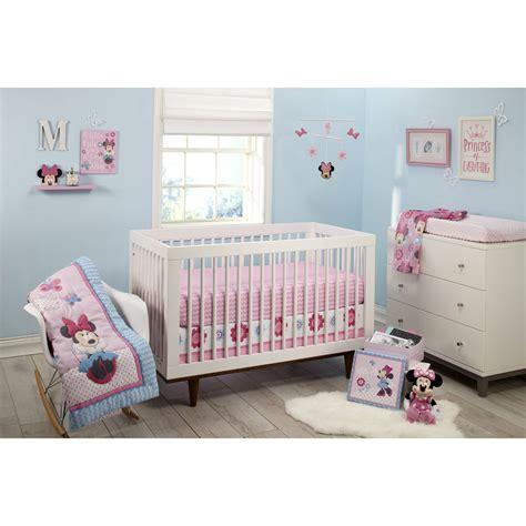 minnie mouse crib bedding disney minnie mouse happy day 4 crib bedding set ebay