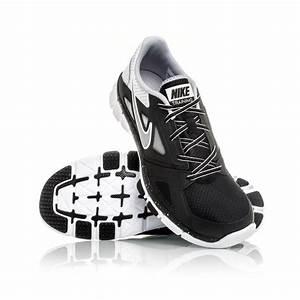 Nike Flex Supreme TR 2 - Mens Running Shoes - Black/White ...