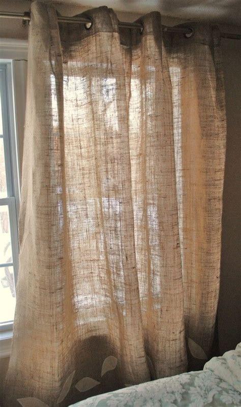 burlap curtain panel with grommets sol cozinhas e r 250 stico