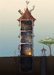 Wizard Tower Concept Art