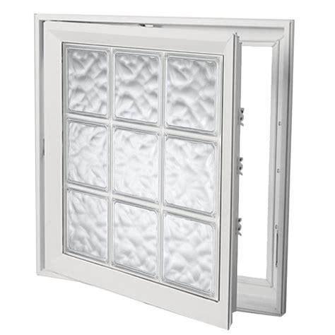shop hy lite deisgn vinyl double pane tempered  construction casement window rough opening