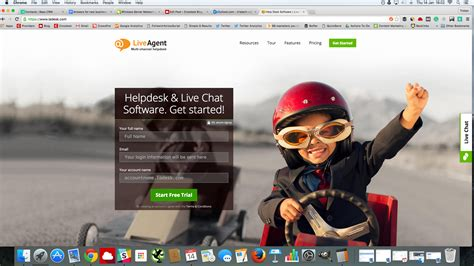 live chat help desk liveagent live chat and help desk software