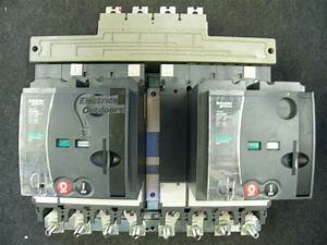 Schneider Electric 630 Amp Changeover Switch Mccb Nsx 630 Na Mt630 Merlin 400