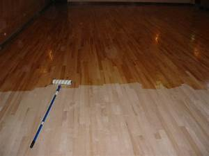 sealing and varnishing wood floors With floor varnish matt