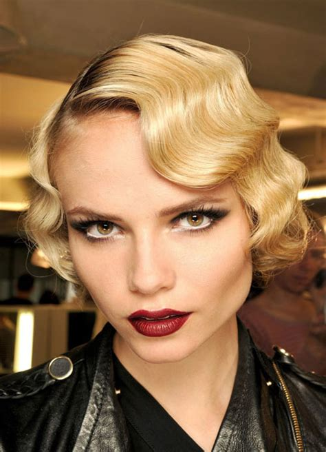 finger waves hairstyle women hairstyles