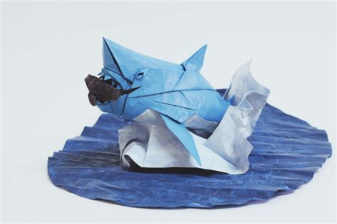 Excellent Origami Fish Just For The Halibut