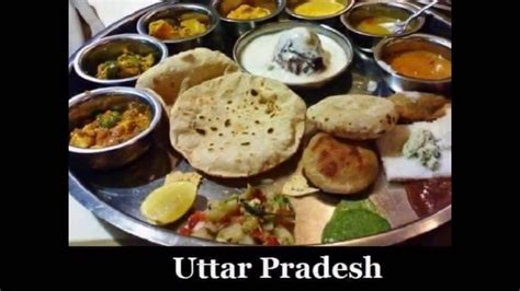 types of indian food items food