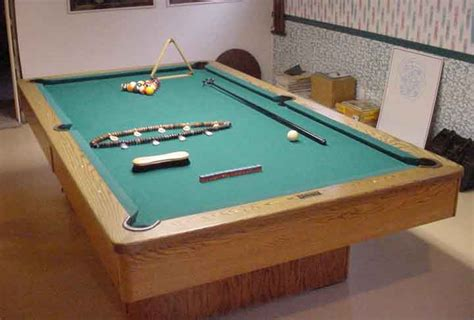 tabletop pool table full size full sized olhausen pool table in galt