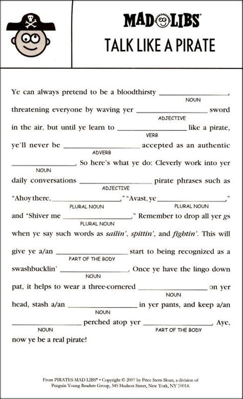 mad libs additional inside page things to do with the at home or