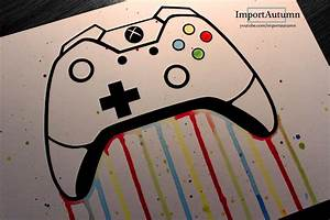 Daily Drawing #3 - Xbox One Controller! - YouTube