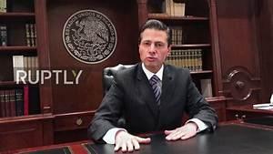 Mexico: President Nieto rejects Trump's border wall - YouTube