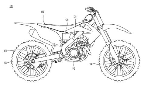 how to draw a motocross bike how to draw a dirt bike easy dirt bike line drawing sketch