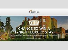 Win a Luxury Break for Two with Nestlé Professional CHEF