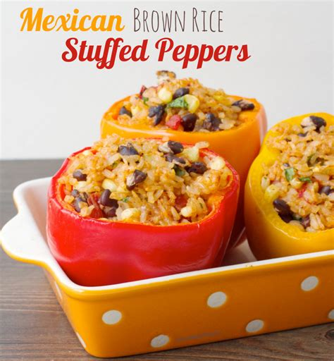 stuffed peppers with rice stuffed red peppers with rice