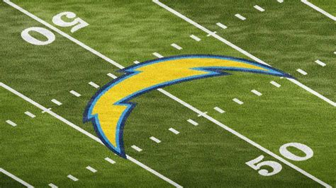 Football Field Grass Logo Mockup Template