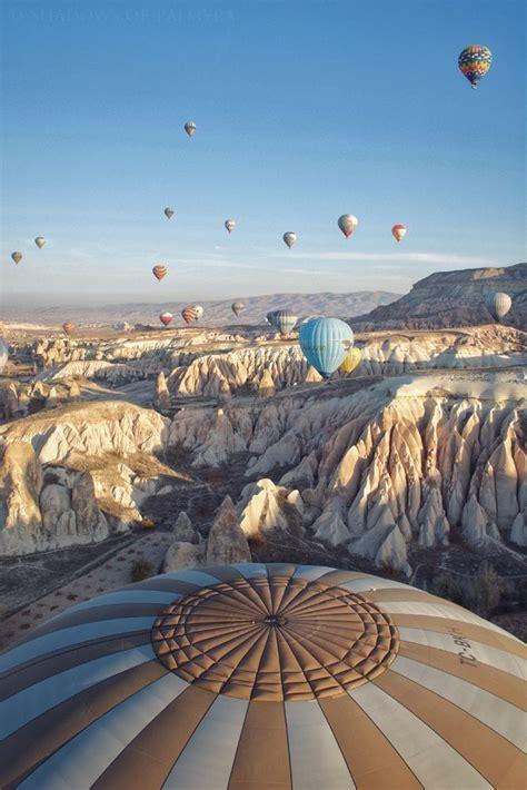 floating  dawn hot air ballooning   landscape