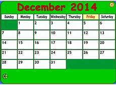 Let's make a calendar! ¡Somos ls de CUARTO!