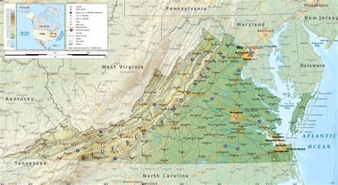 Filevirginia Geographic Map Ensvg Wikimedia Commons