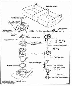 Walbro Fuel Pump Assembly Diagram