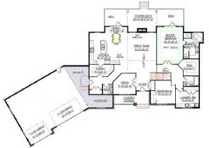 finished basement house plans bungalow plan 2011580 with angled garage by e designs