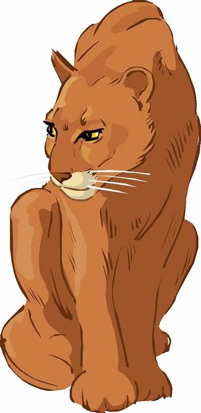 Cougar Clipart Animals Graphic