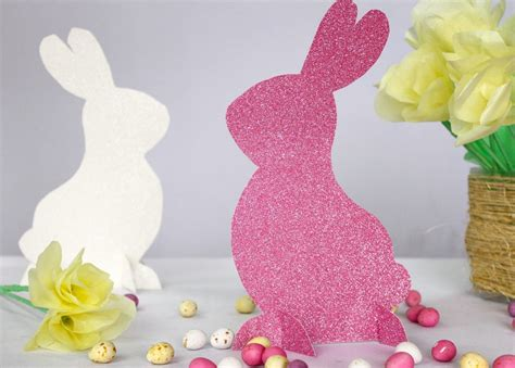 easter decorations to make out of paper easter bunny decorations youtube