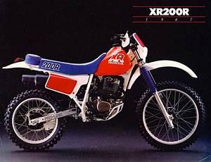 Honda Xr200r 83 Motorcycles T Honda Honda