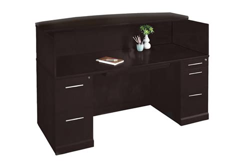 Mayline Reception Desk by Best Small Reception Desks Reviews Ratings Pricing
