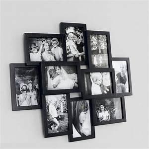Cadre Photo Mural : le cadre photo mural iva association de 10 cadres rectangulaires de tailles diff rentes pour ~ Teatrodelosmanantiales.com Idées de Décoration