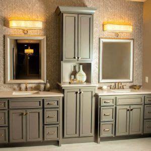 custom bathroom vanities  linen tower master