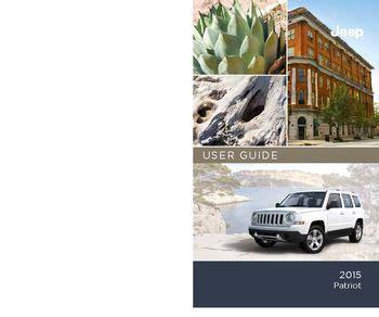download car manuals 2010 jeep patriot user handbook download 2015 jeep patriot user guide pdf manual 132 pages