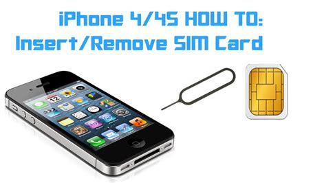 iphone     insert remove  sim card youtube