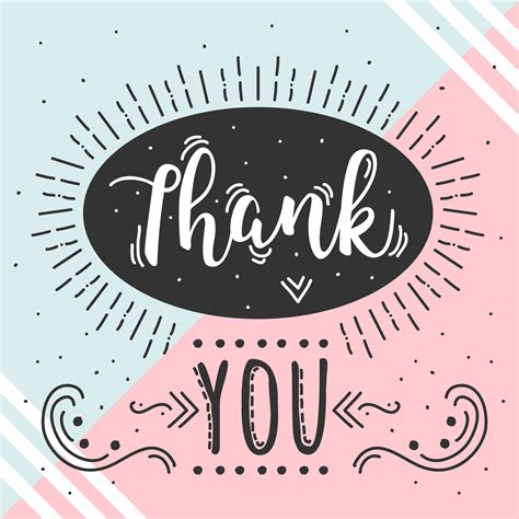 Thank You Vector  Download Free Vector Art, Stock Graphics & Images