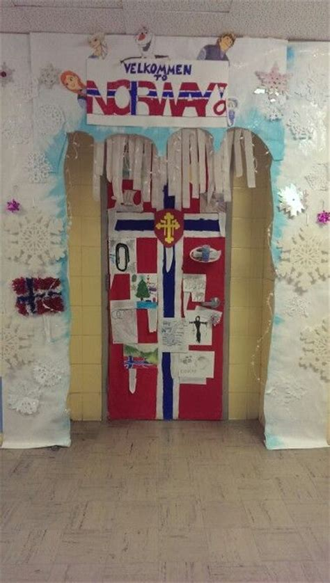 norway door decoration classroom ideas pinterest