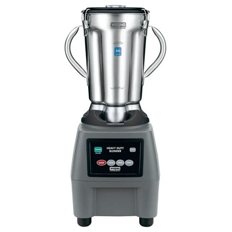 cuisine blender waring cb15 1 gallon stainless steel food blender