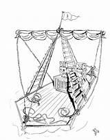 Raft Drawing Getdrawings sketch template