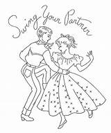 Embroidery Dance Square Coloring Pages Swing Country Dancing Quotes Ab Flickr Patterns Colouring Danse Applique Quotesgram Clipart Template sketch template